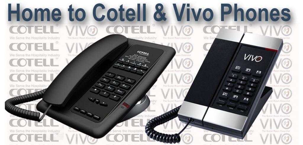 Cotell&Vivoホテル電話ホテルテクノロジーインターナショナル
