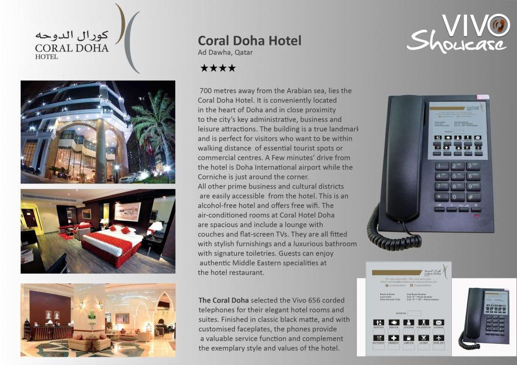 Coral Doha Hotel Hotel Technology International case study