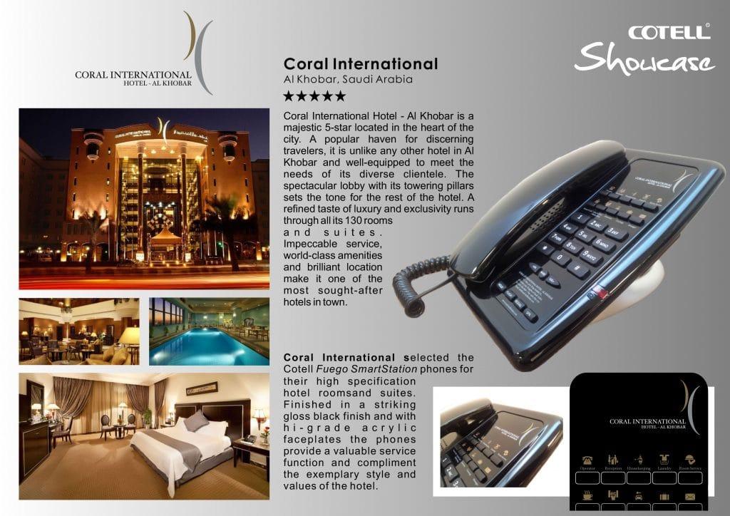Coral International Hotel Hotel Technology International case study