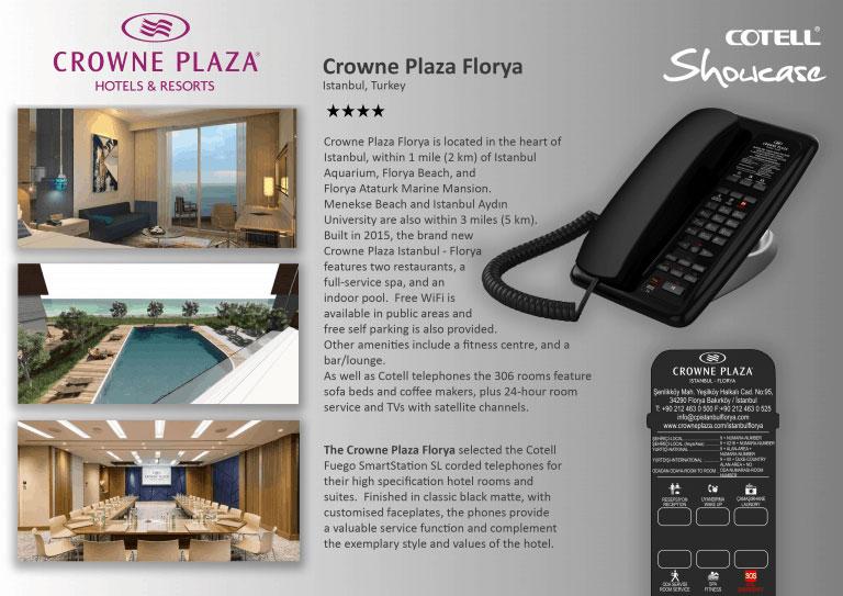 Crowne Plaza Florya Hotel Hotel Technology International case study