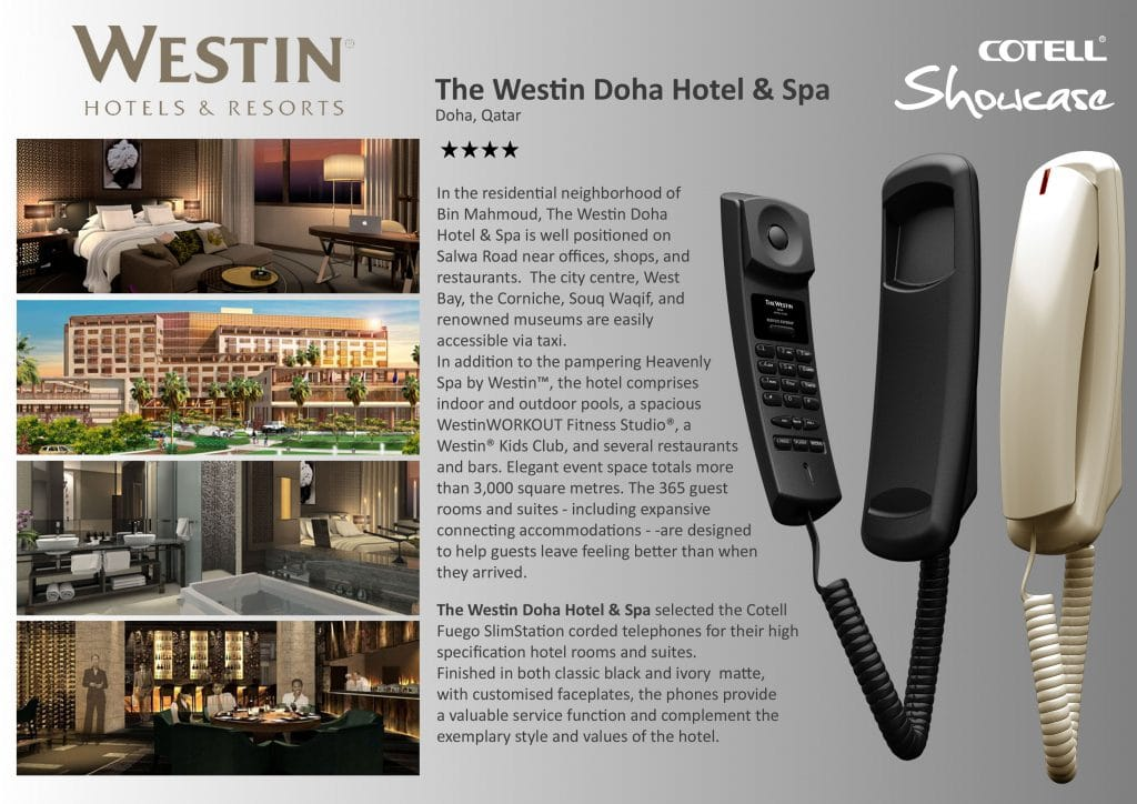 Westin Doha Hotel Technology International Case Study