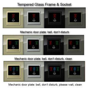 Do not disturb door plates for hotels Hotel Technology International