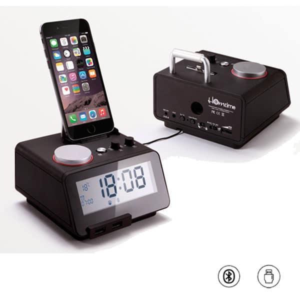 Homtime c12 Pro Hotel Alarm Clock