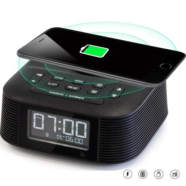 Homtime D8 Radio Alarm Clock