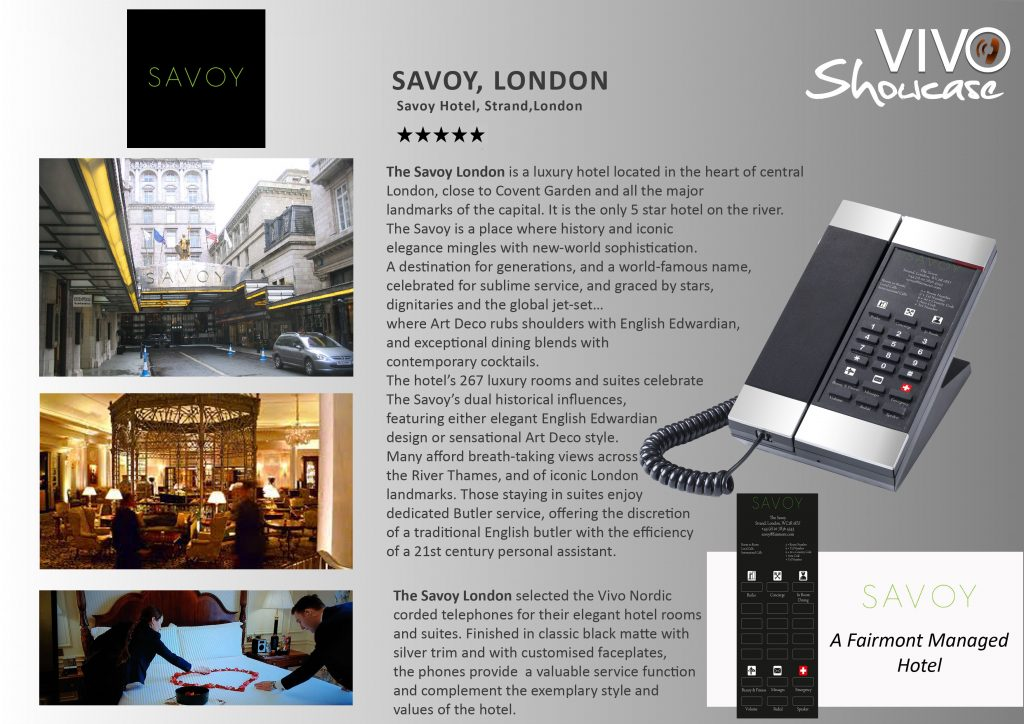 Savoy Case Study