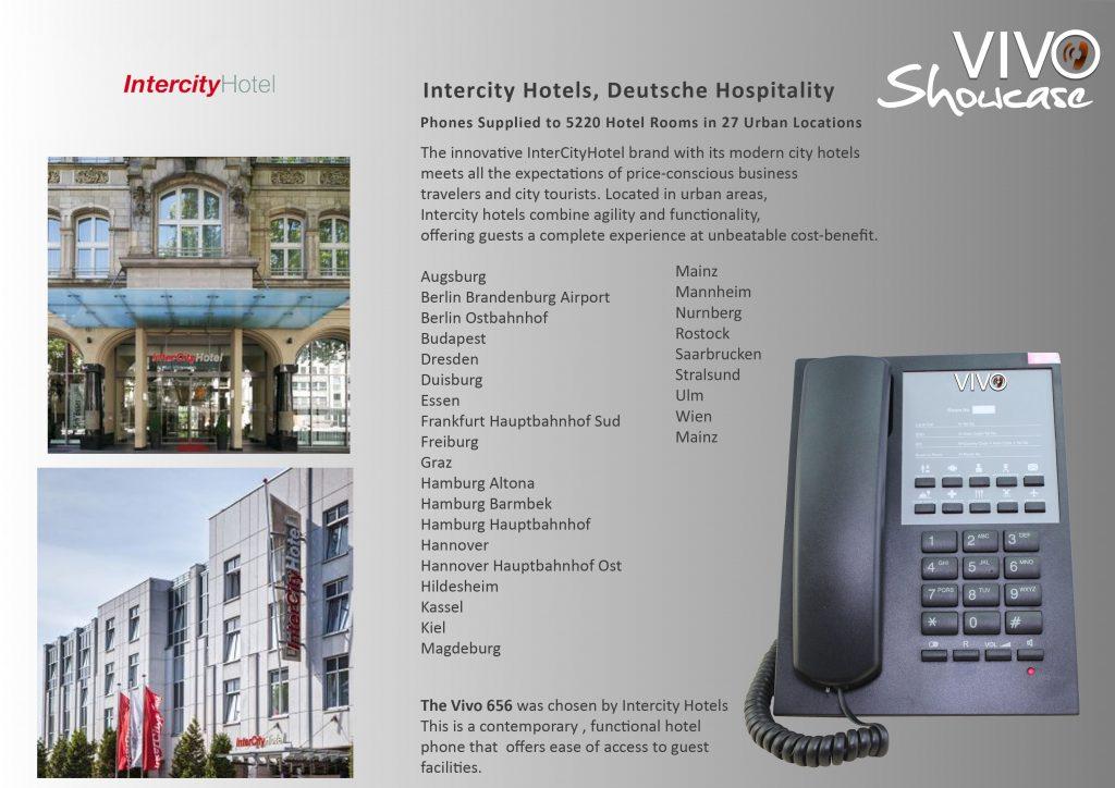 Intercity Hotels Case Study