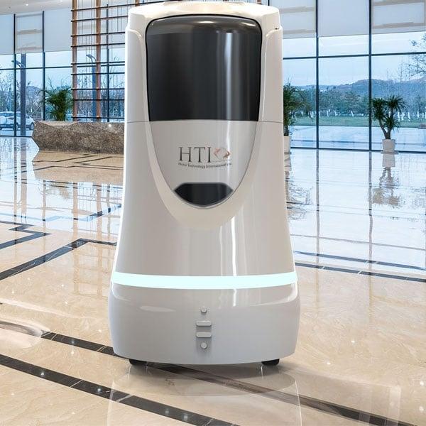 Hotel Room Service Robot